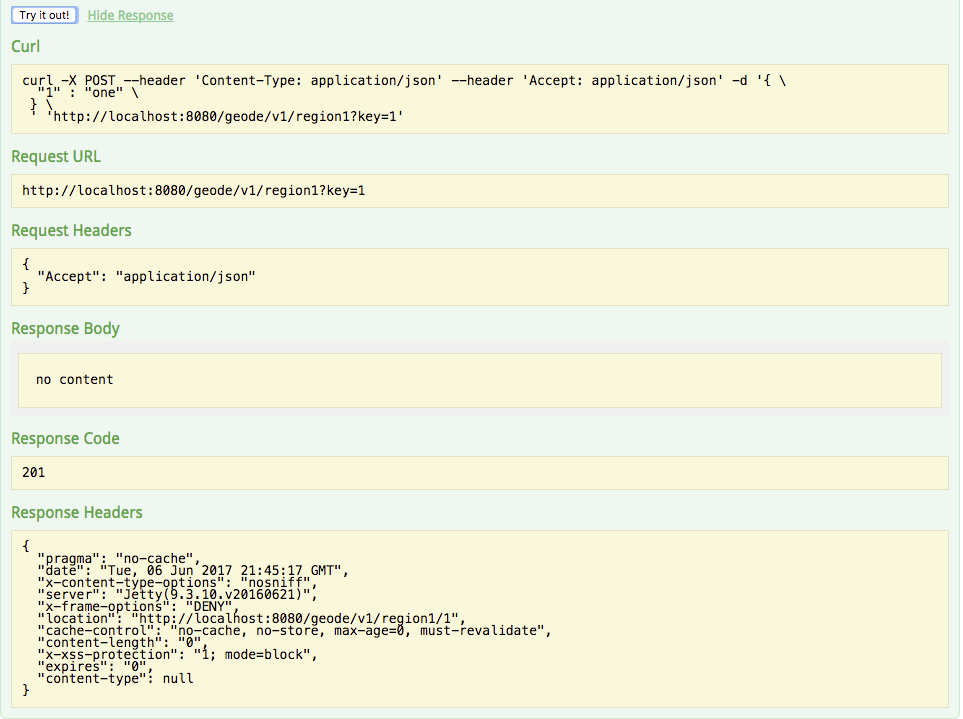 Using the Swagger UI to Browse REST APIs | Pivotal GemFire Docs